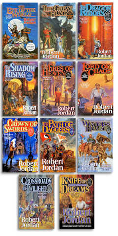 Robert Jordan books 1-11