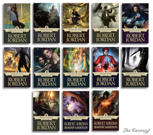 Robert Jordan Titles 1-13