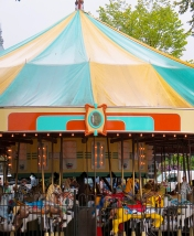 Carousel at the National Book Festival