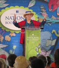 Elizabeth Moon at the National Book Festival