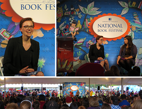 Veronica Roth at Nat Book Festival - small