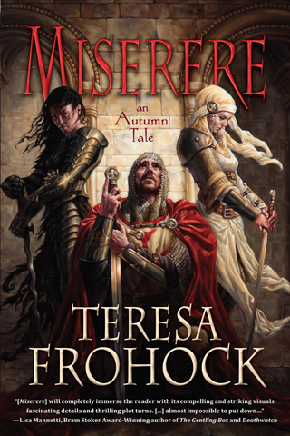 The Cover Made Me Read It: Miserere by Teresa Frohock
