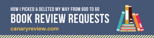 600 Book Review Requests